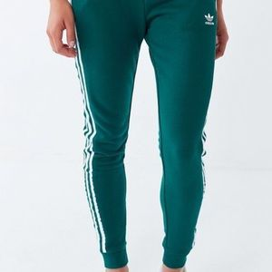 Adidas terry tapered track pant